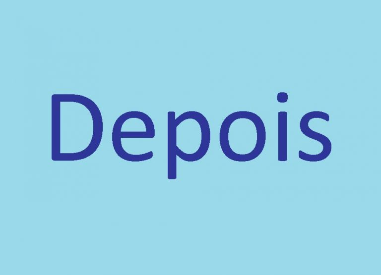 DEPOIS